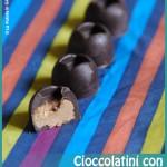 Cioccolatini con il burro d'arachidi
