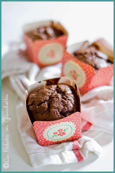 Tortine cioccolato e pere vegan