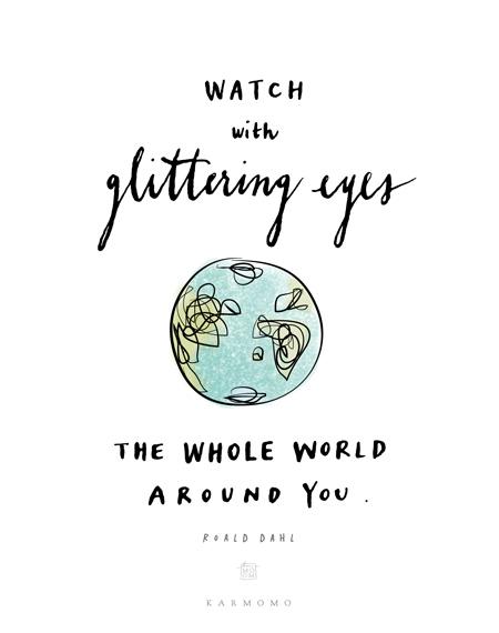 glittering-eyes