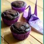 Muffin vegani al ciocciolato fondente