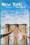 New York: consigli in ordine sparso