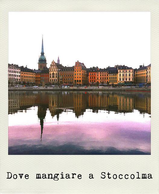 Dove mangiare a Stoccolma