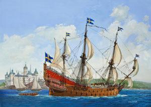 Il Vasa in uno dei suoi (pochi) momenti migliori
