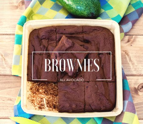Brownies all'avocado