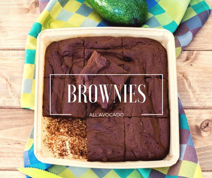 Brownies all'avocado