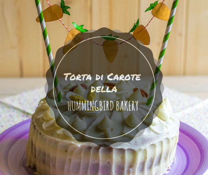 Hummingbird bakery carrot cake