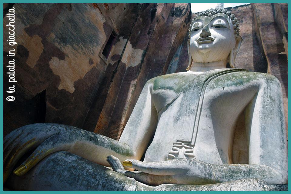 Il Buddha di Wat Si Chum a Sukhothai