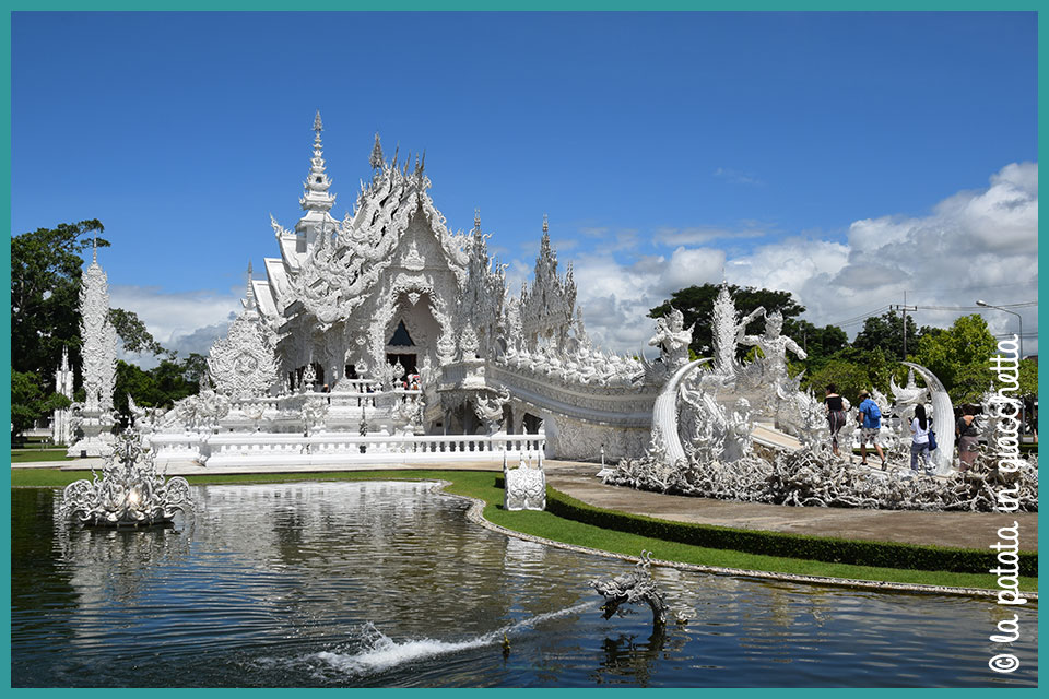 Il White Temple di Chiang Rai