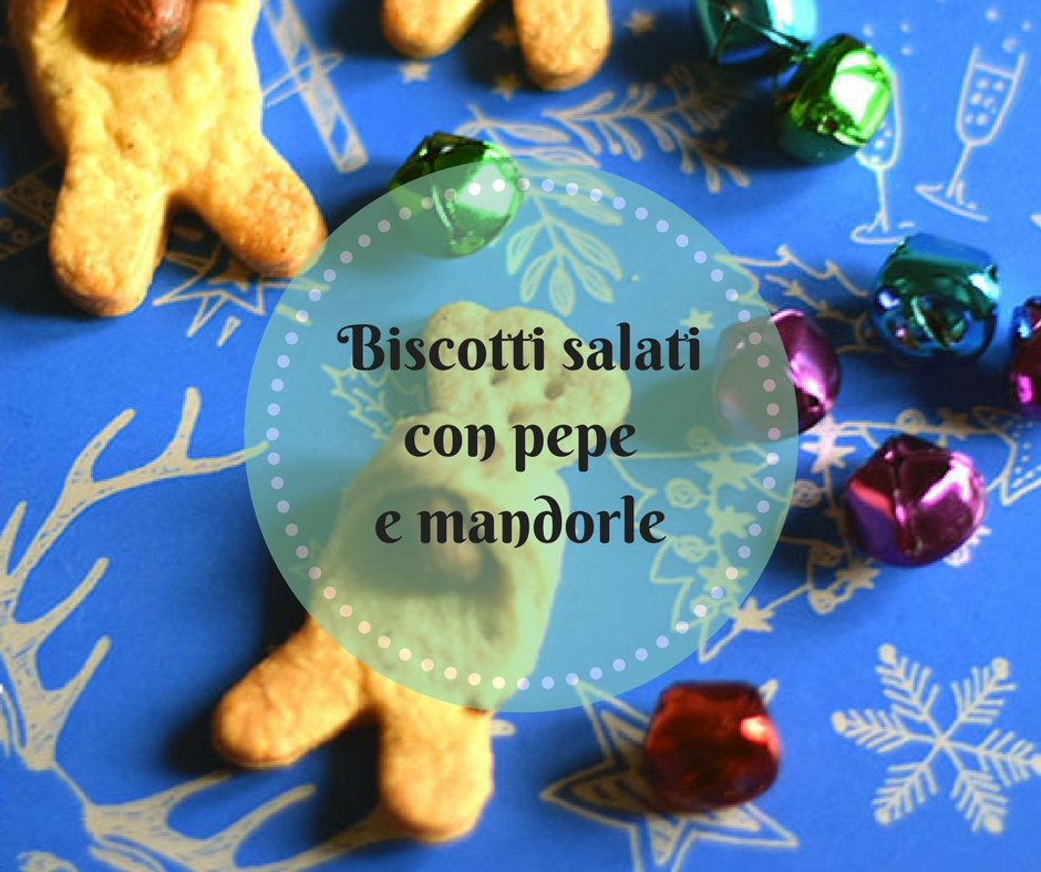 Biscotti-salati con pepe e mandorle