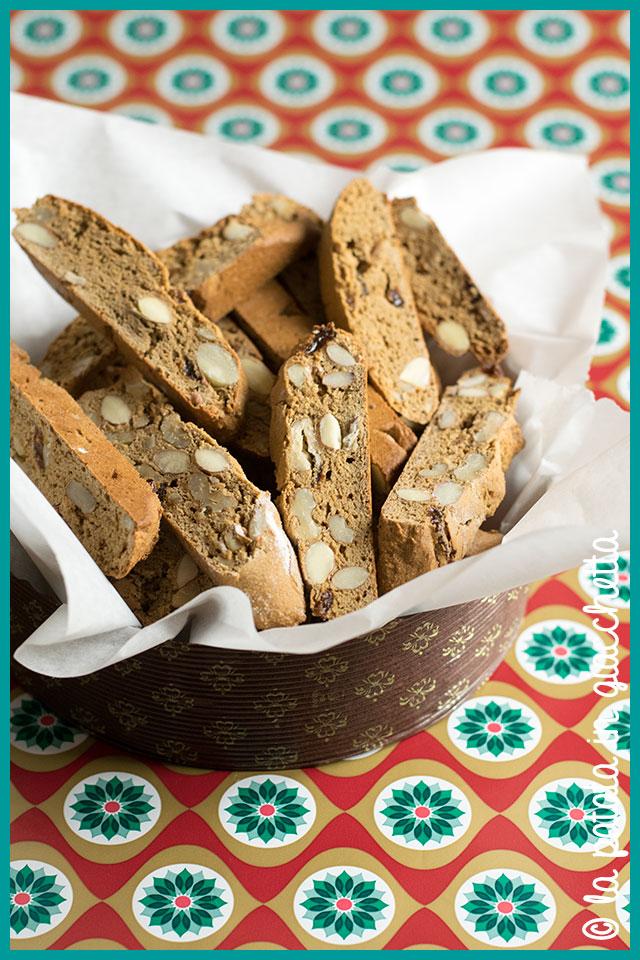 Cantuccini alla farina di castagne