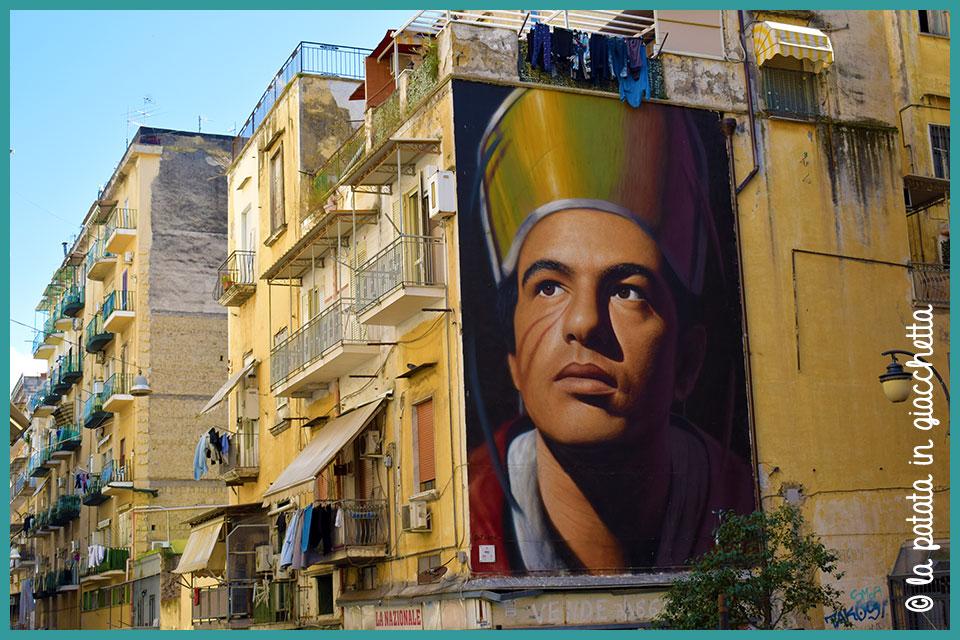 San Gennaro di Jorit Napoli