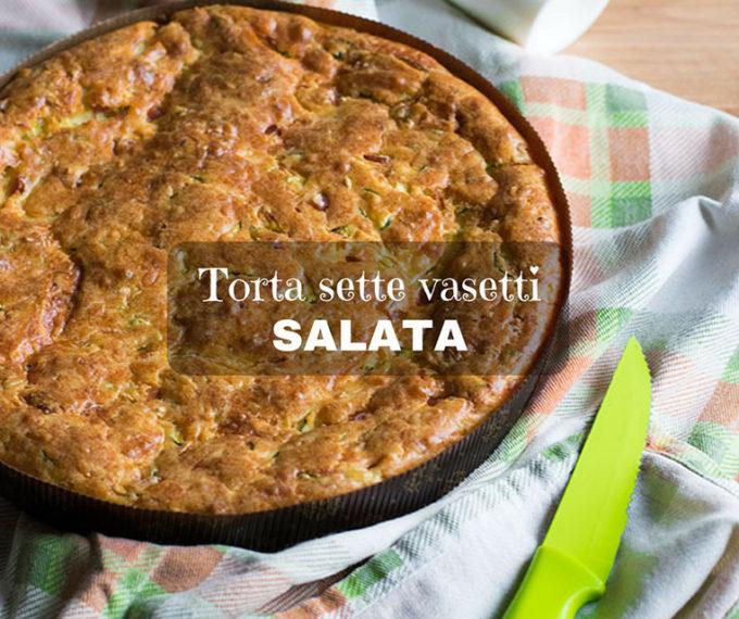 Torta sette vasetti salata