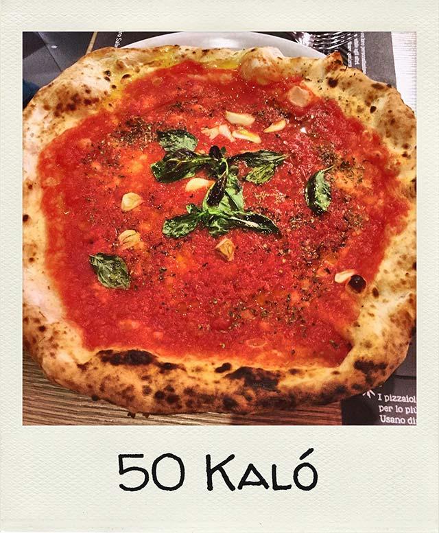 Dove mangiare la pizza a Napoli 50 kalo