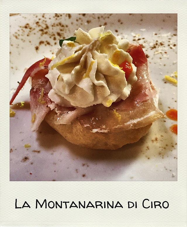 Dove mangiare la pizza a Napoli Montanarina di ciro