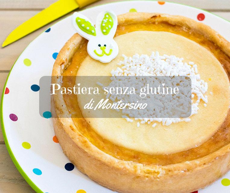 Pastiera senza glutine di Montersino