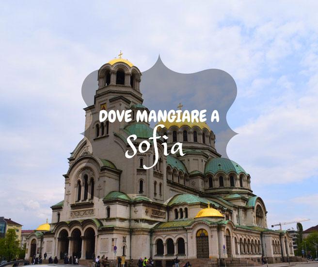 Dove mangiare a Sofia