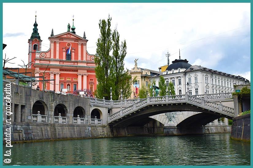 Itinerario tre giorni Slovenia Ljubljana