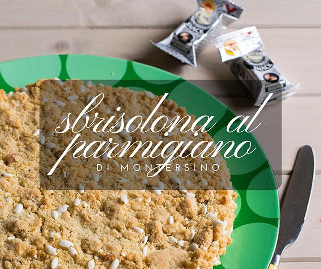 Sbrisolona al Parmigiano di Montersino
