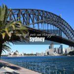 Consigli per un viaggio a Sydney