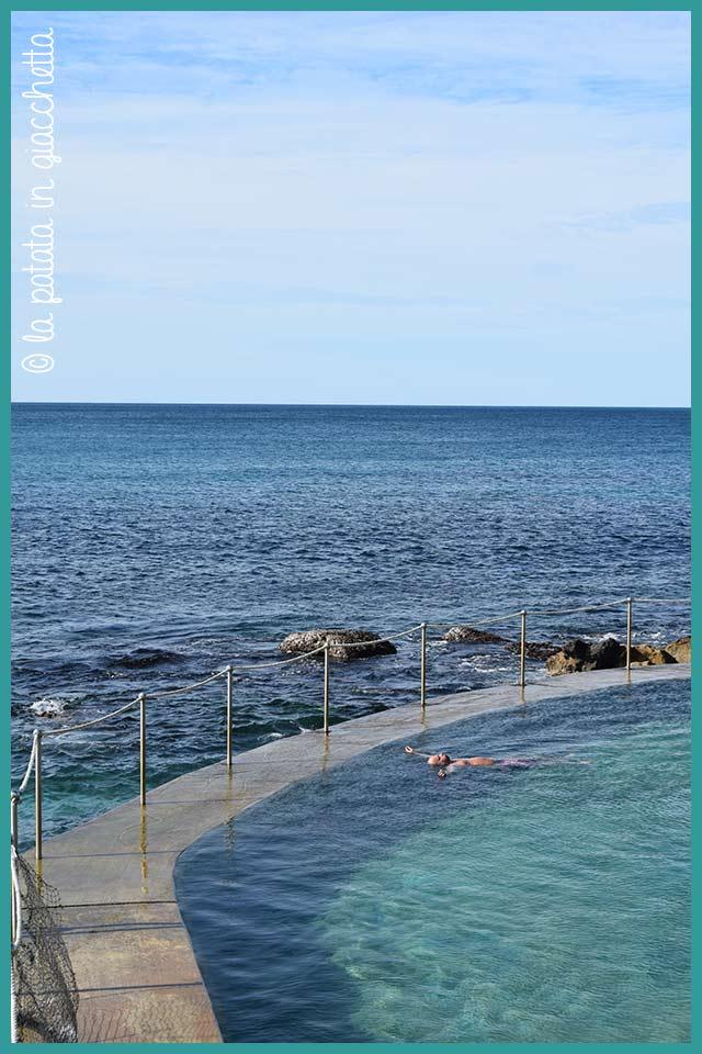 La piscina sul mare a Bondi Beach