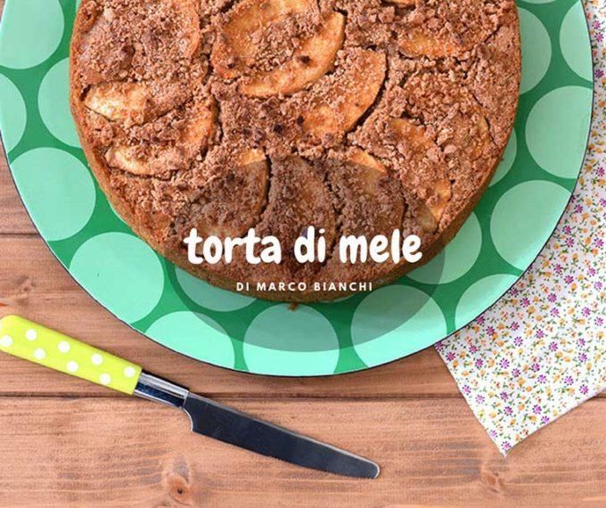 La Torta di mele di Marco Bianchi: una ricetta senza burro e senza uova