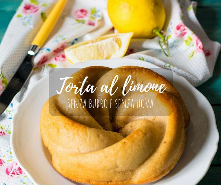 Torta Al Limone Senza Burro E Senza Uova